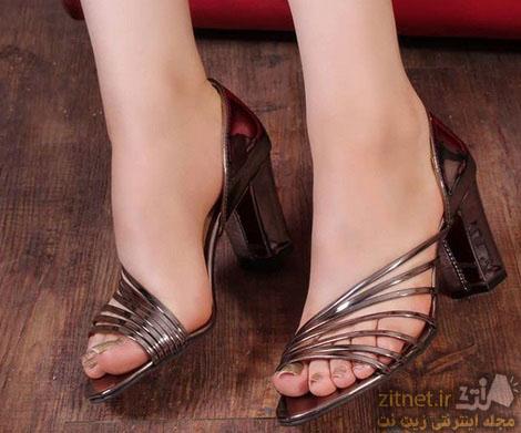 کفش مجلسی زنانه ساده