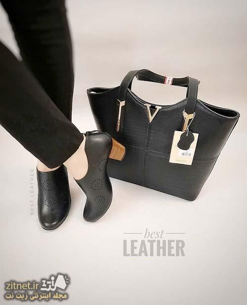 مدل ست کیف و کفش خانم ها