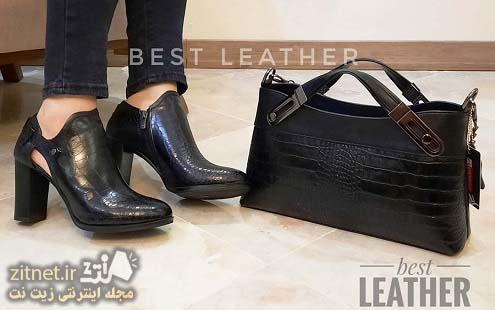انواع مدل ست کیف و کفش
