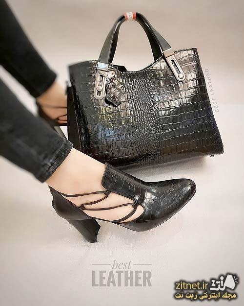 جدیدترین ست کیف و کفش
