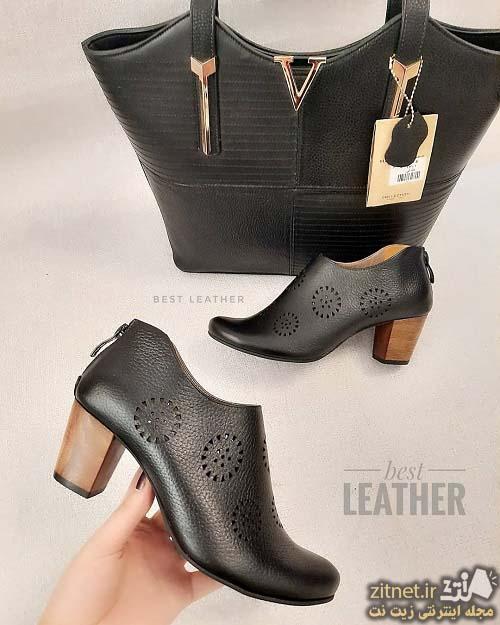 ست کیف و کفش رسمی زیبا