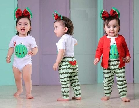 لباسهای جدید نوزادی و بچه گانه طرح یلدا