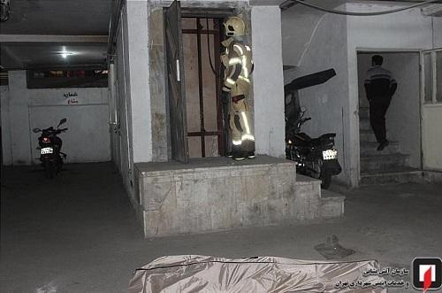 کشته شدن زن 40 ساله تهرانی در آسانسور