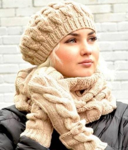 مدل جدید کلاه شال دخترانه