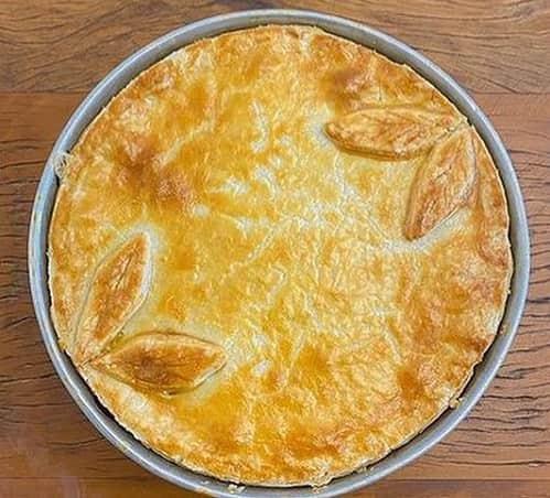 پای مرغ Chicken pie