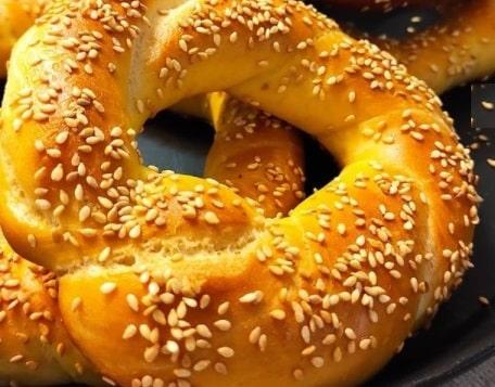 آموزش درست کردن نان سیمیت ترد و خوش طعم