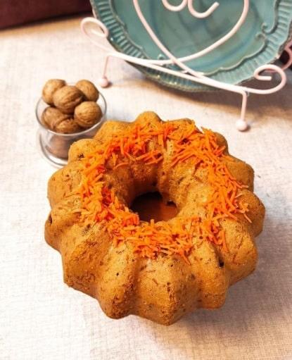 آموزش درست کردن کیک هویج و گردو