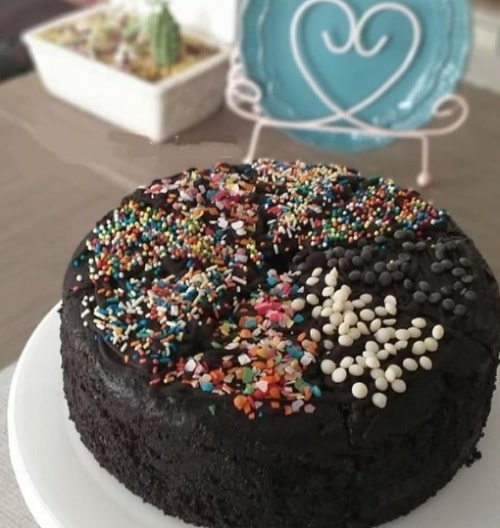 درست کردن کیک شکلاتی کافی شاپی